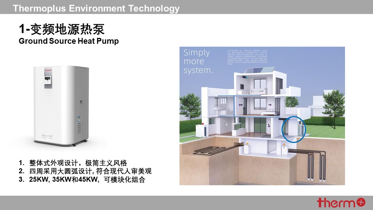 迪莫变频地源热泵机组插图